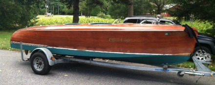 1942 Chris Craft 'Barrelback'